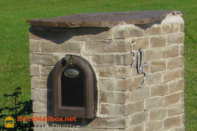 Brick mailbox designs for Best mailbox design