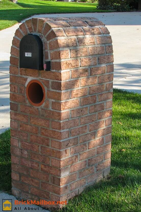 Residential Brick Mailboxes Pictures Spring Brickmailbox