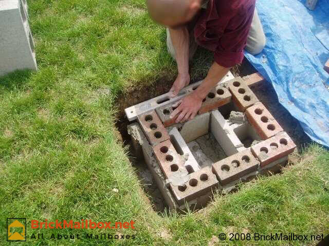 Check to make sure the coarse is square and plumb.